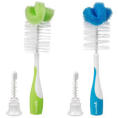 Munchkin Bottle & Nipple Brush 2-Pack