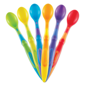 Munchkin Soft-Tip Infant Spoons 6-Pack