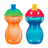 Munchkin Click Lock 9oz Sippy Cup, 2 pk (More Colors)