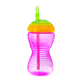 Munchkin Mighty Grip 10oz Straw Cup, 1 pk (More Colors)