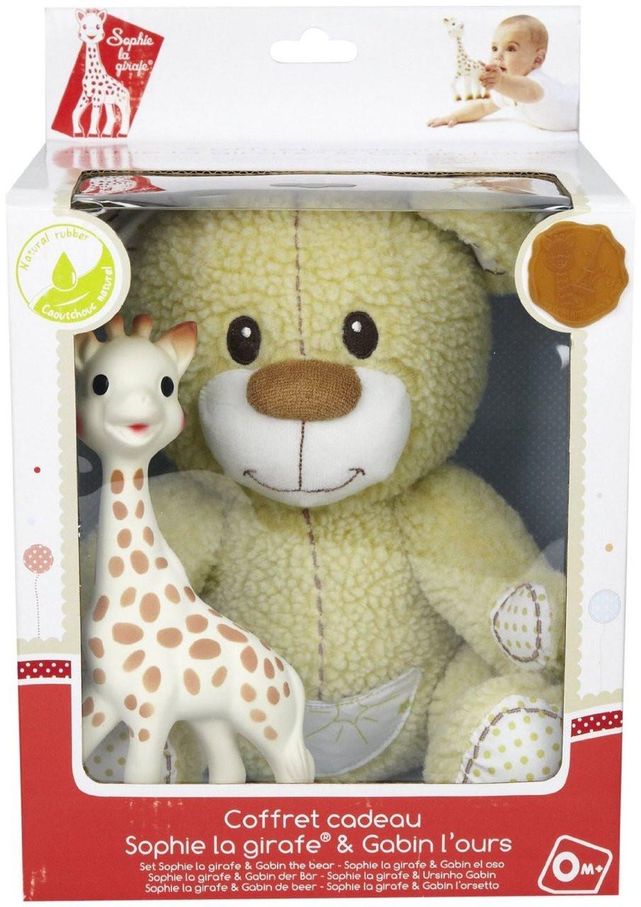 Vulli Set Toys Sophie The Giraffe And Gabin The Teedy Bear