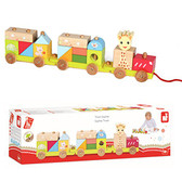 Vulli Train Toy, Sophie the Giraffe