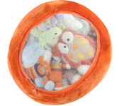 Boon Animal Bag Stuffed Animal Storage, Orange