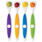 Dr Brown's Long Spatula Spoons, 4 pk