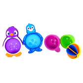 Munchkin Lazy Buoys Bath Toy, 5 pk