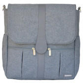 JJ Cole Backpack Diaper Bag Gray Heather