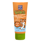 Kiss My Face Kids Shampoo & Conditioner, Orange U Smart, 8 Ounce