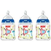 NUK Core Orthodontic Bottles, 3 pk, 5 oz (More Colors)
