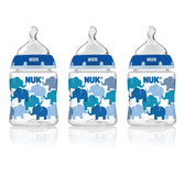 NUK Fashion Orthodontic Bottles, 2 pk, 5 oz (More Colors)