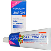 Jason Oral Comfort Gel, Fluoride Free, Very Berry Mint Flavor, 4.2 Oz