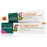 JASON NutriSmile Fluoride Gel Toothpaste, Orange Cinnamon Mint, 6 oz