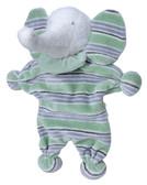 Under the Nile Organic Cotton Toy, Striped Elephant Lovie