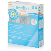 Evenflo Classic + Vented Glass Bottles, 8oz, 3-pk