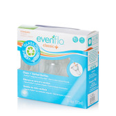 Evenflo Classic + Vented Glass Bottles, 4 oz, 3-pk