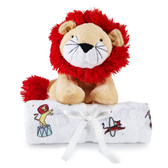 Aden + Anais Plush Toy with Swaddle, Vintage Circus