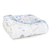 Aden + Anais Organic Muslin Dream Blanket 1 pk, Warrior Finn