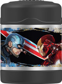 Thermos 10 Ounce FUNtainer Food Jar, Captain America - Civil War