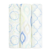 Aden + Anais Silky Soft Bamboo Swaddles 3 pk, Sprout