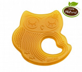 Haakaa Sleeping Owl Natural Rubber Teether, 1 pk