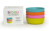 BIOBU Bambino Kid Bowl Set 20 oz 4 pk (More Colors)