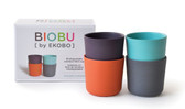 BIOBU Bambino Kid Cup Set 8 oz 4 pk (More Colors)