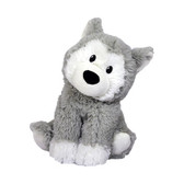 Intelex Warmies Cozy Plush Microwavable Warmer, Husky