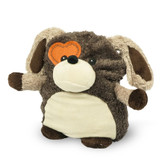 Intelex Warmies Cozy Plush Microwavable Warmer, Hooty Friend Puppy