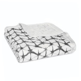 Aden + Anais Silky Soft Bamboo Dream Blanket 1 pk, Pebble Shibori