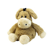 Intelex Warmies Cozy Plush Microwavable Warmer, Donkey