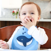 Make My Day Soft Silicone Baby Bib 1 pk,  make a splash