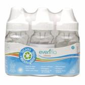 Evenflo Classic Glass Bottles, 4oz, 3-pk