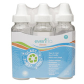 Evenflo Classic Glass Bottles, 8oz, 3-pk