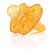 Hevea Crown Natural Rubber Pacifier, Round, 1 pk