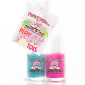 Piggy Paint Nail Polish Gift Set, Play-Toes
