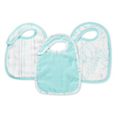 Aden + Anais Muslin Bamboo Snap Bib, 3 pk (More Colors)