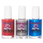 Piggy Paint Nail Polish Gift Set, Little Miss Firecracker