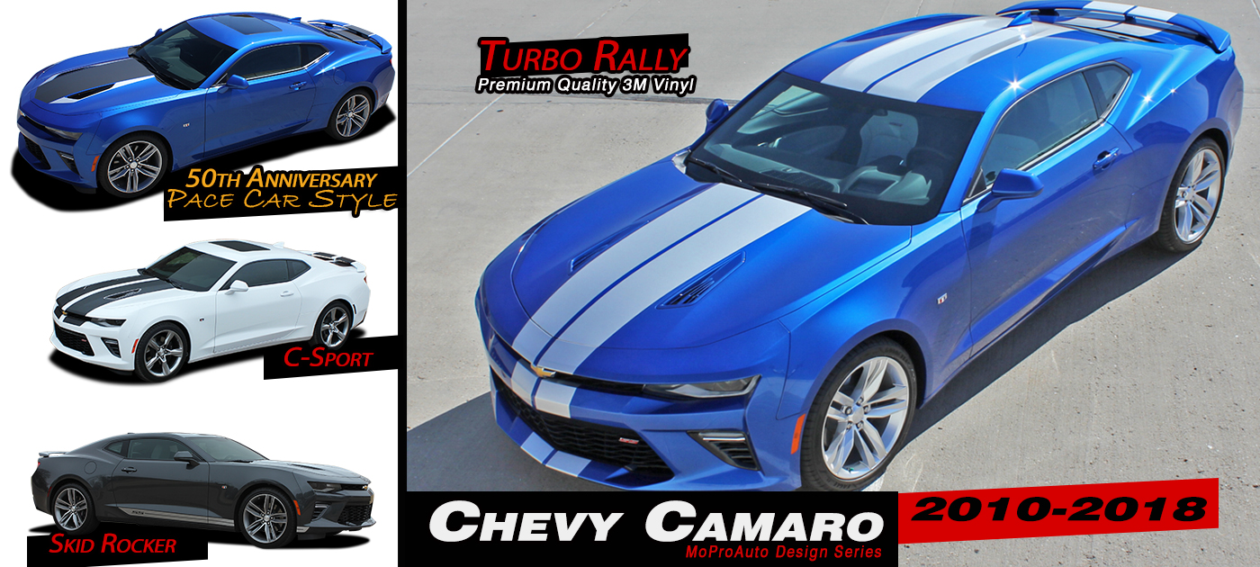 Chevy Camaro Stripes Decals Vinyl Graphics