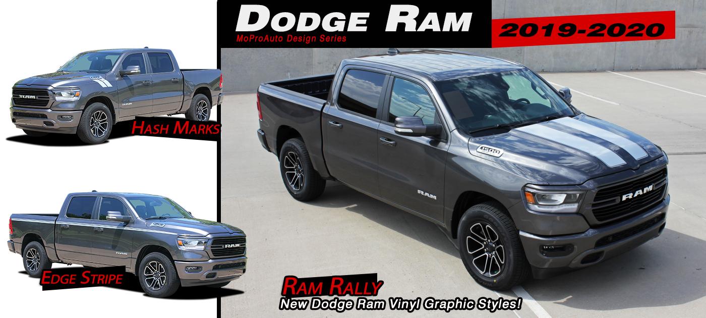 Dodge Ram Stripes, Dodge Ram Decals, Dodge Ram Vinyl Graphics Kits