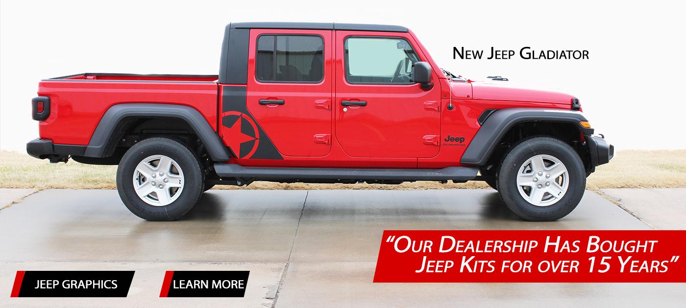 Jeep Stripes, Jeep Decals, Jeep Vinyl Graphics