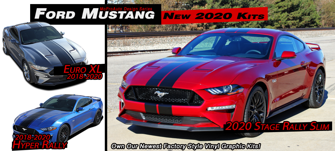 Ford Mustang Stripes, Ford Mustang Decals, Ford Mustang Vinyl Graphics