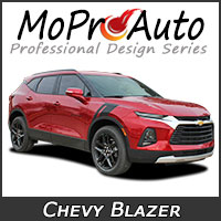 Chevy Blazer Vinyl Graphics, Chevy Blazer Decals, Chevy Blazer Stripe Kits for the Chevy Blazer