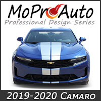 2019 Camaro Vinyl Graphic Decal Stripe Kits 2019 2020 Chevy Camaro Model Year MoProAuto Pro Design Series