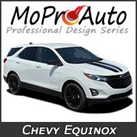 Chevy Equinox Vinyl Graphics, Chevy Equinox Decals, Chevy Equinox Stripe Kits for the Chevy Equinox