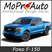 MoProAuto Pro Design Series Vinyl Graphic Decal Stripe Kits for 2021 2022 2023 Ford F-150 Series Model Years
