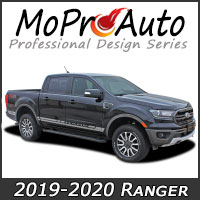 Featuring our MoProAuto Pro Design Series Vinyl Graphic Decal Stripe Kits for 2019 2020 Ford Ranger Model Years