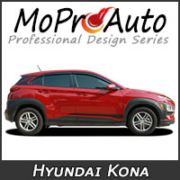Featuring our MoProAuto Pro Design Series Vinyl Graphic Decal Stripe Kits for 2011-2018 Hyundai Kona Model Years