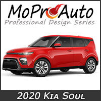 MoProAuto Pro Design Series Vinyl Graphic Decal Stripe Kits for 2020 2021 2022 Kia Soul