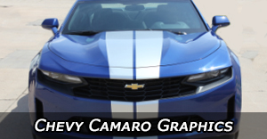 2010-2020 Chevy Camaro Stripes, Camaro Decals, Camaro Vinyl Graphics, and Camaro Side Body Striping Kits