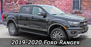 2019 2020 Ford Ranger Stripes, Ford Ranger Decals, Ford Ranger Vinyl Graphics Kits