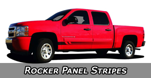 Rocker Panel Stripes | Vinyl Graphics by Style | Universal Fit Decals